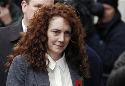 Former News International Chief Executive Rebekah Brooks arrives at the Old Bailey courthouse in London October 31, 2013. REUTERS-Luke MacGregor