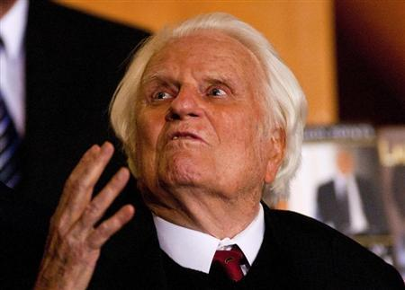 Evangelist Billy Graham to mark 95th birthday with message to America
