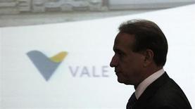 Presidente da Vale, Murilo Ferreira, durante assinatura de acordos de investimentos em São Paulo. Para Ferreira, o ambiente econômico da China será favorável nos próximos trimestres. A China é o principal importador do minério de ferro da maior produtora global do produto. 22/07/2011. REUTERS/Nacho Doce