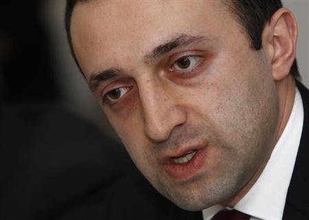 Georgia's Interior Minister Irakli Garibashvili speaks to the foreign media in Tbilisi, December 17, 2012. REUTERS/David Mdzinarishvili