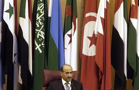 President of the Syrian National Coalition Ahmad Jarba attends the Arab foreign ministers' meeting in Cairo November 3, 2013. REUTERS/Mohamed Abd El Ghany