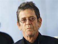"Musician Lou Reed arrives for the Metropolitan Opera's premiere of ""Le Comte Ory"" at Lincoln Center in New York in this March 24, 2011 file photograph. REUTERS/Lucas Jackson/Files"