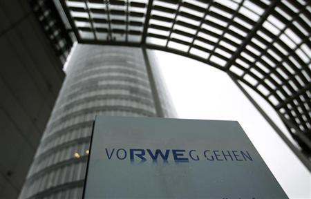 The headquarters of German power supplier RWE are pictured in the German town of Essen April 15, 2013. RWE on April 18, 2013 holds an annual shareholders meeting in Essen. Picture taken April 15, 2013. REUTERS/Ina Fassbender