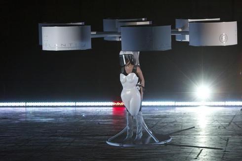 Lady Gaga's flying dress