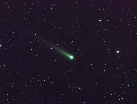 Comet ISON is seen in this five-minute exposure taken at NASA's Marshall Space Flight Center (MSFC) on November 8 at 5:40 a.m. EST (1040 GMT), courtesy of NASA. REUTERS/Aaron Kingery/NASA/MSFC/Handout via REUTERS