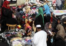 Women shop at Al Ataba, a popular market in downtown Cairo November 11, 2013. REUTERS/Mohamed Abd El-Ghany
