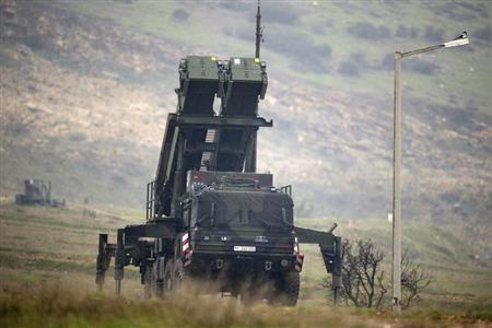 Patriot missile installation is pictured at a positions near the city of Kahramanmaras, February 23, 2013. REUTERS/Axel Schmidt/Pool