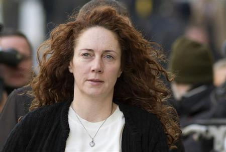 Former News International chief executive Rebekah Brooks arrives at the Old Bailey courthouse in London November 13, 2013. REUTERS/Neil Hall