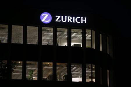 The logo of Zurich Insurance Group is seen at the company's headquarters in Zurich September 2, 2013. REUTERS/Arnd Wiegmann