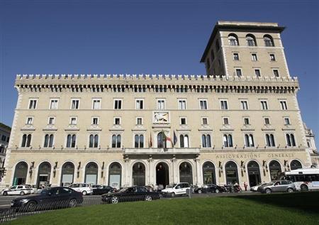 A view of Generali headquarters in Rome April 6, 2011. REUTERS/Remo Casilli