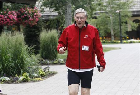 MLB Commissioner Bud Selig arrives at the annual Allen and Co. conference at the Sun Valley, Idaho Resort July 11, 2013. REUTERS/Rick Wilking