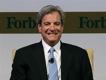 U.S. Forbes Media President and CEO Mike Perlis smiles during the Forbes Global CEO Conference in Kuala Lumpur September 14, 2011. REUTERS/Bazuki Muhammad