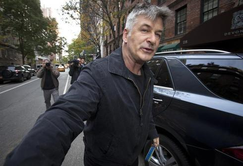 Alec Baldwin in focus