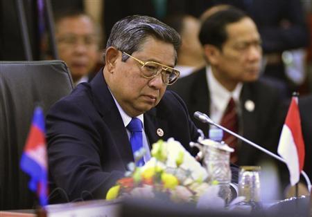 Indonesia's President Susilo Bambang Yudhoyono attends the ASEAN Plus Three Summit in Bandar Seri Begawan, October 10, 2013. REUTERS/Ahim Rani