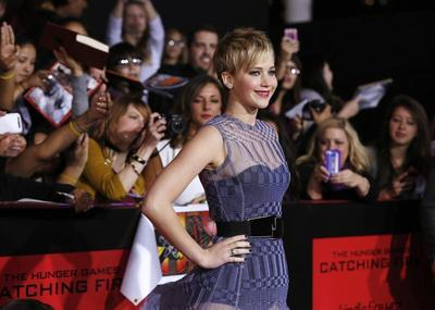 Catching Fire red carpet