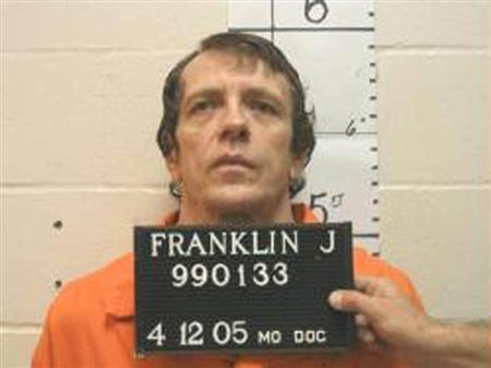 Joseph Paul Franklin is seen in a booking photo provided by the Missouri Department of Corrections taken April 12, 2005. REUTERS/Missouri Department of Corrections/Handout via Reuters