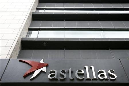 The headquarters of Japanese pharmaceutical company Astellas Pharma Inc. is seen in Tokyo July 17, 2009. REUTERS/Stringer