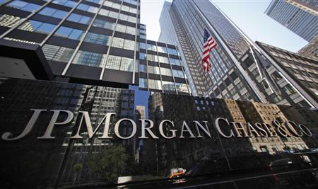 The headquarters of JP Morgan Chase & Co are seen in New York in this file photo taken September 19, 2013. REUTERS/Mike Segar/Files