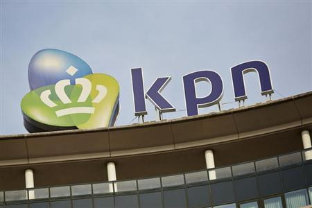 The logo of Dutch telecom company Royal KPN is seen in their headquarters in The Hague October 2, 2013. REUTERS/Phil Nijhuis