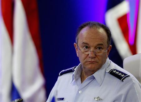 NATO's Supreme Allied Commander Europe (SACEUR) U.S. Air Force General Philip Mark Breedlove attends the Opening Remarks of the NATO Military Committee Conference in Budapest, September 14, 2013. REUTERS/Bernadett Szabo