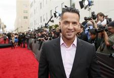 Television personality Mike Sorrentino arrives at the 2013 MTV Movie Awards in Culver City, California April 14, 2013. REUTERS/Danny Moloshok