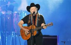Singer Willie Nelson performs at the 2012 CMT Music Awards in Nashville, Tennessee, in this June 6, 2012, file photo. REUTERS/Harrison McClary/Files