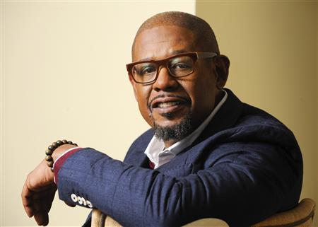 U.S. actor Forest Whitaker poses for pictures during a press junket for his new film ''Black Nativity'' in Los Angeles, California November 2, 2013. REUTERS/Gus Ruelas