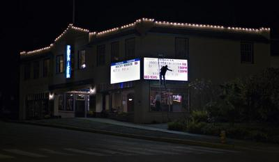 The first and last movie theater