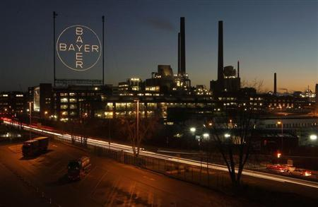 A plant belonging to Germany's largest drugmaker Bayer is seen in Leverkusen January 30, 2013. REUTERS/Ina Fassbender