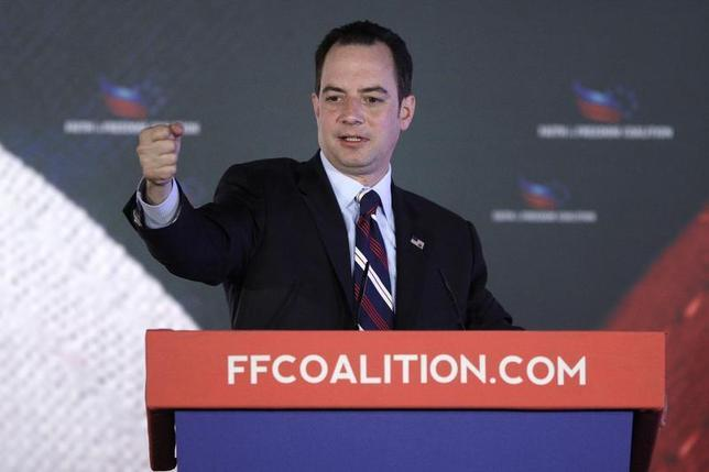 Republican National Committee Chairman Reince Priebus addresses the Faith and Freedom Coalition ''Road to Majority'' conference in Washington June 15, 2013. REUTERS/Jonathan Ernst