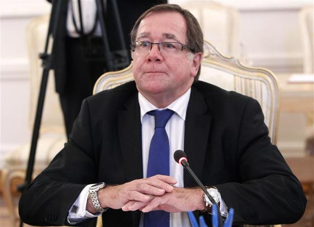 New Zealand's Foreign Minister Murray McCully attends a meeting with his Russian counterpart Sergei Lavrov in Moscow, November 5, 2013. REUTERS/Maxim Shemetov