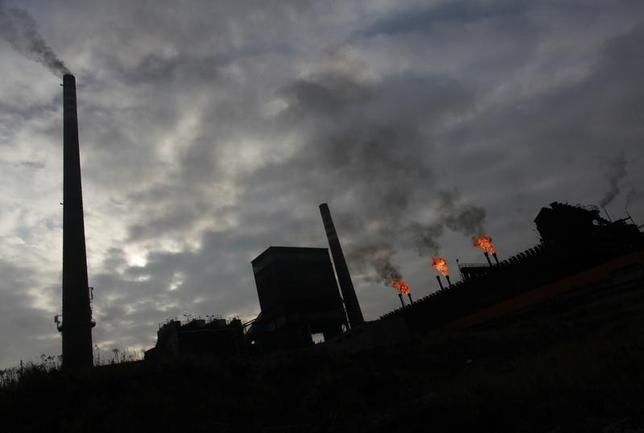 General view of a coking plant in the city of Bytom Silesia November 22, 2012. REUTERS/Peter Andrews