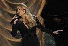 Carrie Underwood performs a medley of songs at the 47th Country Music Association Awards in Nashville, Tennessee November 6, 2013. REUTERS/Harrison McClary
