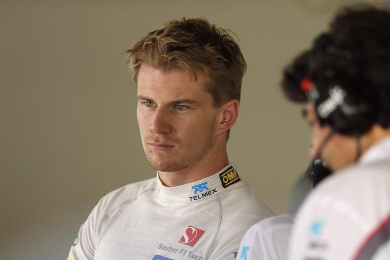 Sauber Formula One driver Nico Hulkenberg of Germany attends the first practice session of the Japanese F1 Grand Prix at the Suzuka circuit October 11, 2013. REUTERS/Issei Kato