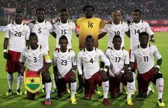 Seleção de Gana posa para foto em 19 de novembro no Cairo. REUTERS/Amr Abdallah Dalsh