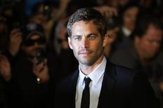 "Actor Paul Walker arrives for the British premiere of ""Fast & Furious"" in Leicester Square in London March 19, 2009. REUTERS/Stefan Wermuth"