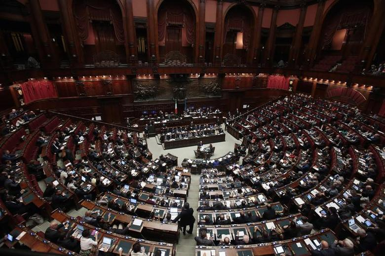 A general view shows the Lower House of Parliament in Rome, October 2, 2013. REUTERS/Remo Casilli