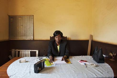 Bureaucrats in a conflict zone