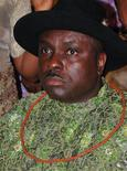 Former governor of Nigeria's Delta state James Ibori attends a social function in Lagos in this file photo taken December 10, 2009. REUTERS/Stringer