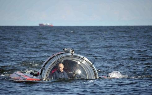 Putin by RIA Novosti