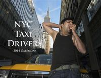 A taxi driver named Yasar poses for the NYC Taxi Drivers 2014 Calendar in this handout received December 10, 2013. REUTERS/Shannon McLaughlin/NYC Taxi Drivers 2014 Calendar/Handout