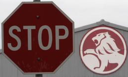 A stop sign is seen near a General Motors (GM) Holden storage facility in Melbourne June 2, 2009 file photo. REUTERS/Mick Tsikas