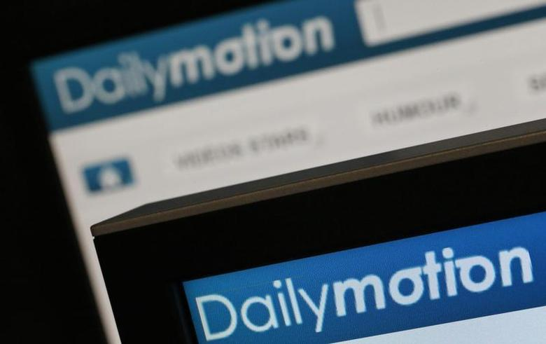 Dailymotion website pages opened in an internet browser are seen in this photo illustration taken in Paris, May 3, 2013. REUTERS/Christian Hartmann