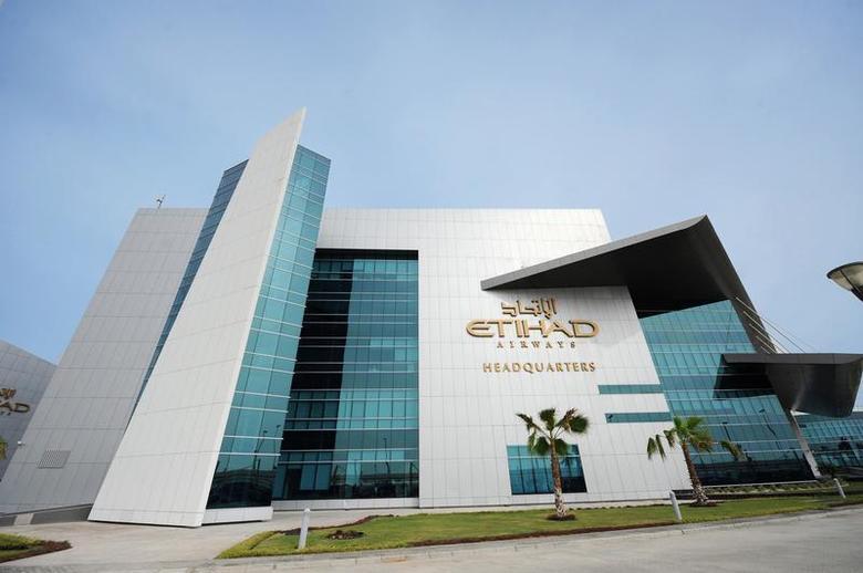 The Etihad Airways headquarters is pictured in Abu Dhabi November 27, 2012. REUTERS/Ben Job