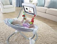 The Newborn-to-Toddler Apptivity Seat for iPad sold by toy maker Fisher-Price is seen in an undated handout photo received December 10, 2013. REUTERS/Fisher-Price/Handout via Reuters