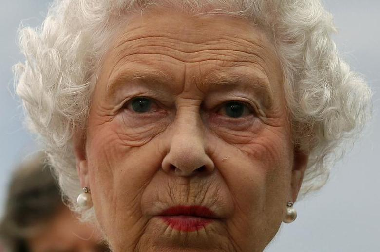 Britain's Queen Elizabeth visits the Coronation Festival in the garden of Buckingham Palace, in central London July 11, 2013. REUTERS/Stefan Wermuth