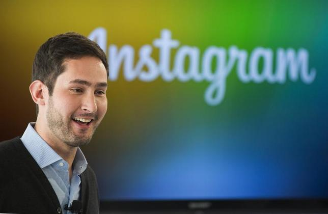 Instagram Chief Executive Officer and co-founder Kevin Systrom smiles during the launch of a new service named Instagram Direct in New York December 12, 2013. REUTERS/Lucas Jackson