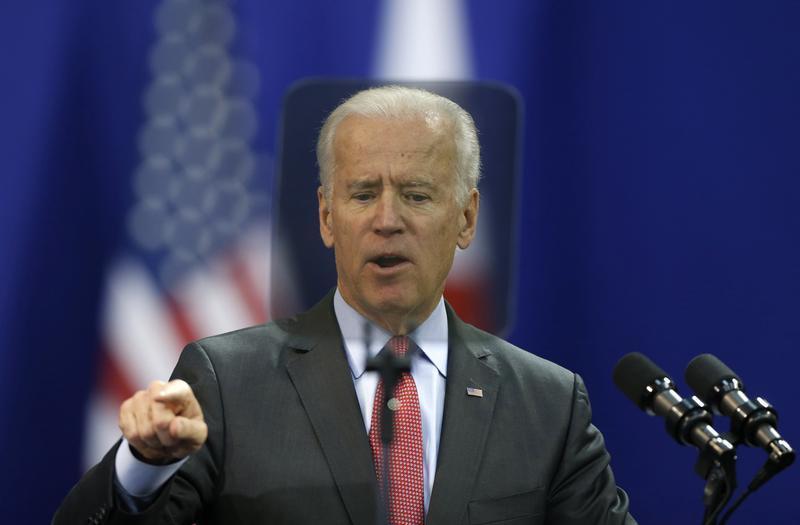 Biden, Japan PM Abe discuss East China Sea dispute