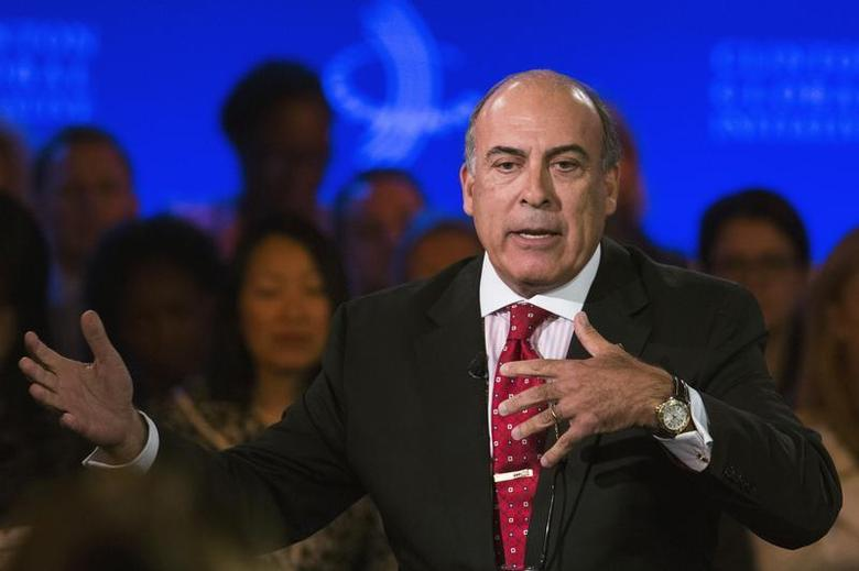 Muhtar Kent, chairman and CEO of the Coca-Cola Company speaks at the Clinton Global Initiative (CGI) in New York September 25, 2013. REUTERS/Lucas Jackson