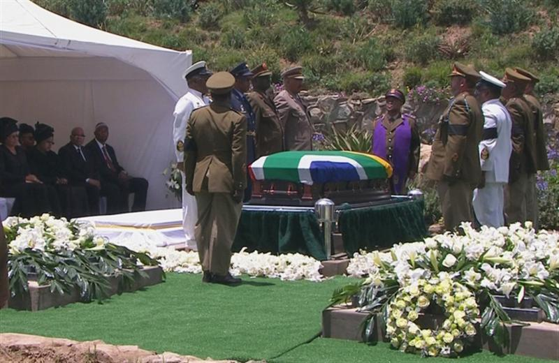 South Africa buries 'greatest son' Mandela